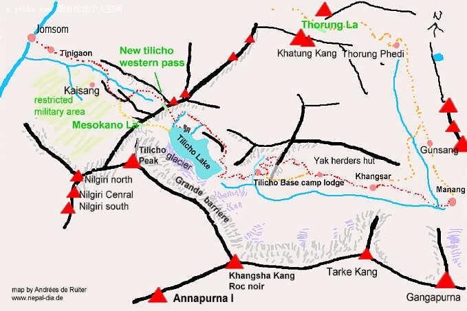 (尼泊尔地图)_尼泊尔地图中文版
