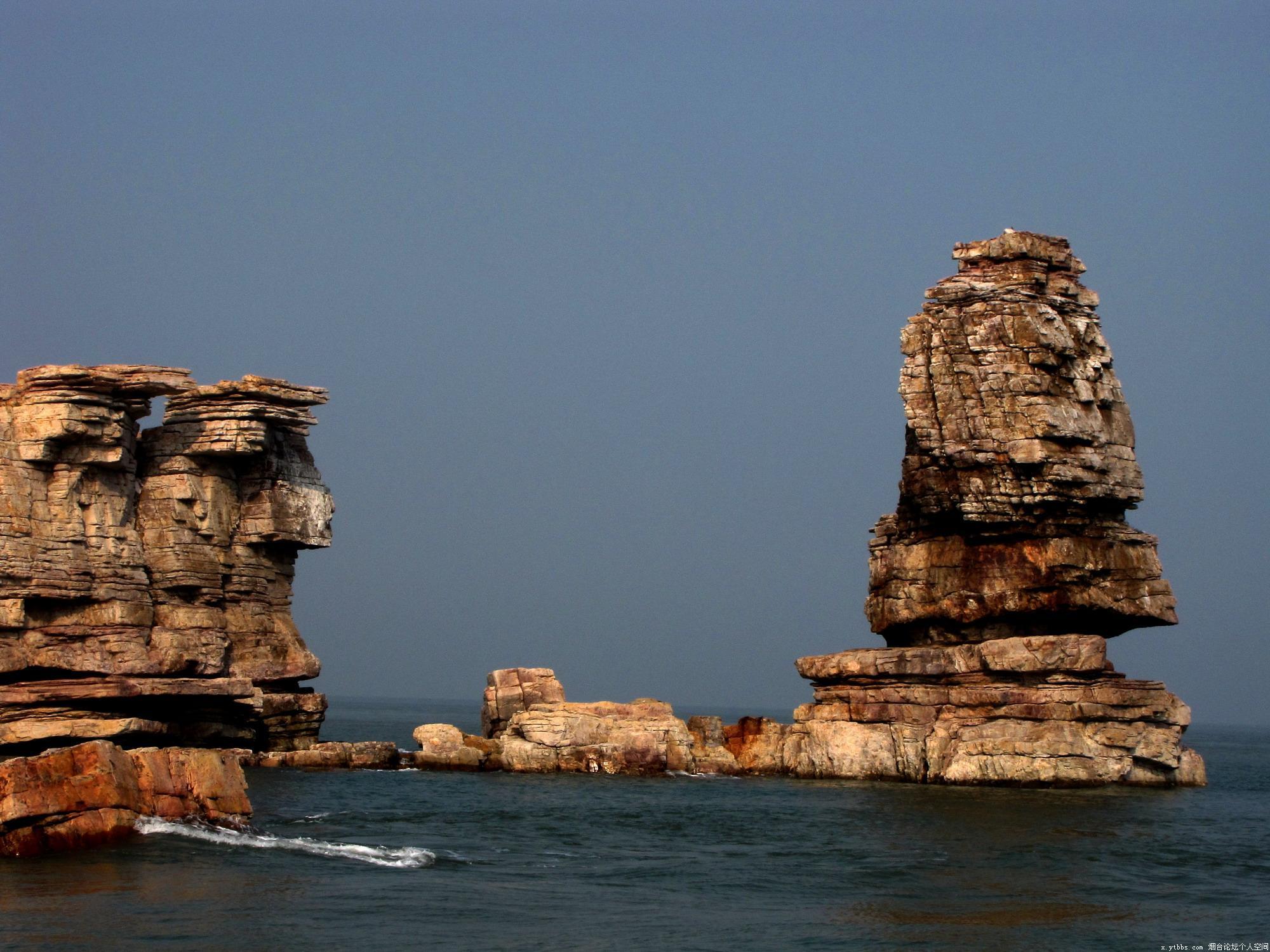 龙爪山位于大黑山岛北端