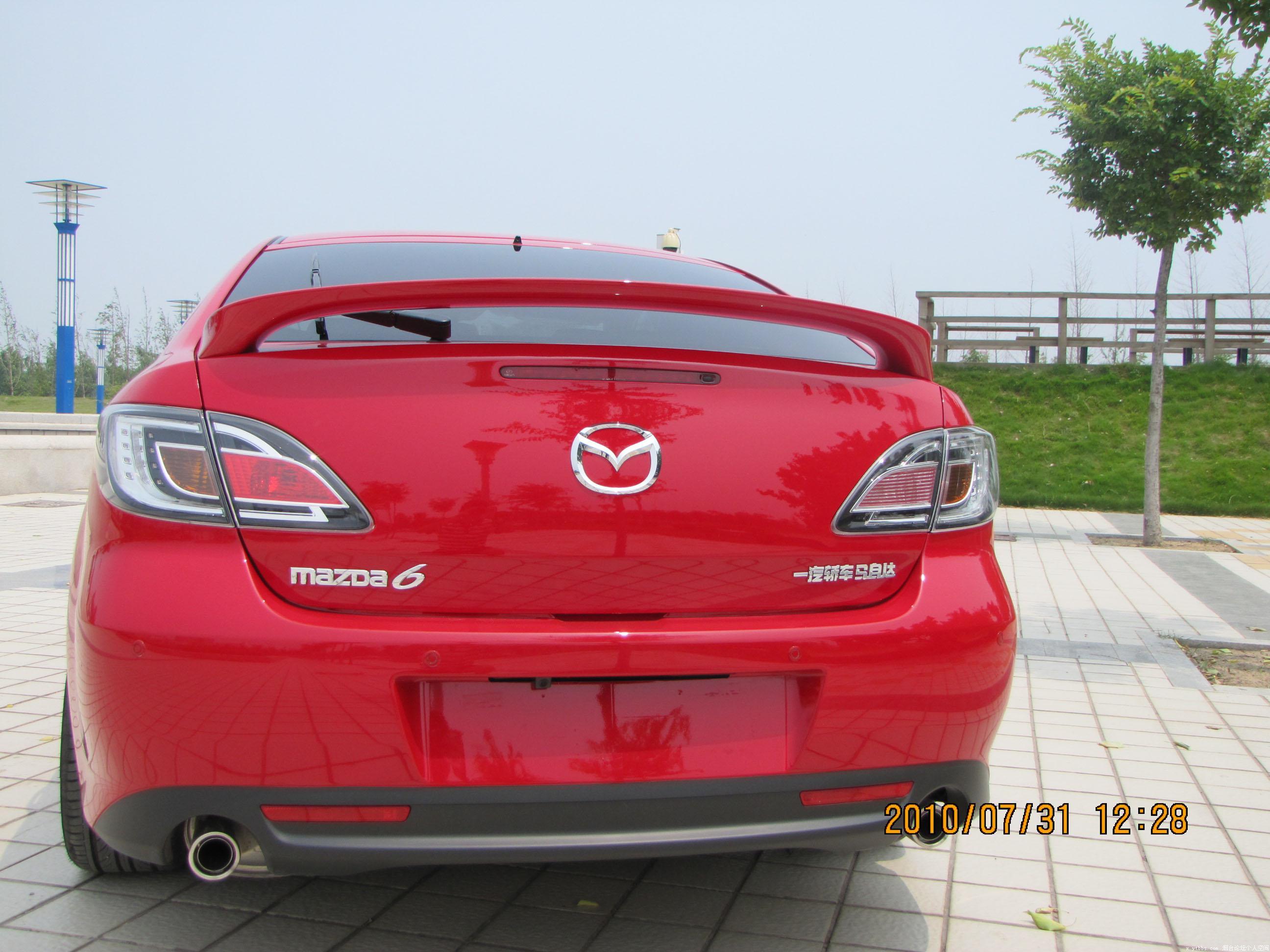 马自达睿翼轿跑 燃烧的红色激情 易车体验马自达睿翼轿跑 高清图片