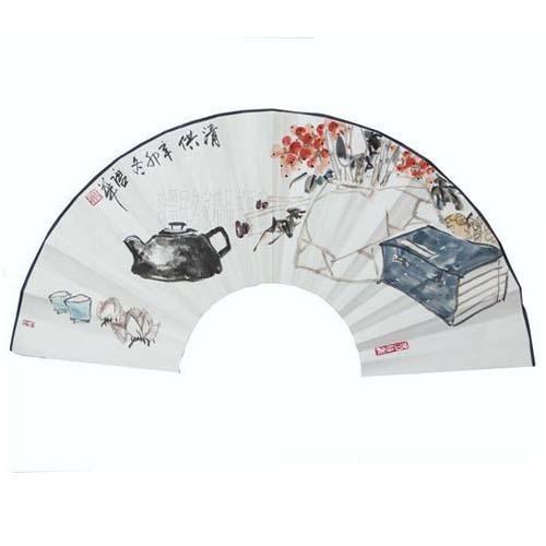 国画作品 牡丹/花鸟/动物/葡萄/荷花/青铜器扇面润格
