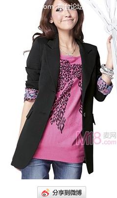 烟台论坛-烟台社区-美女长款欧式西服图片