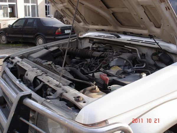 年1月登记挂牌长丰猎豹黑金刚三菱帕杰罗两驱吉普车高清图片