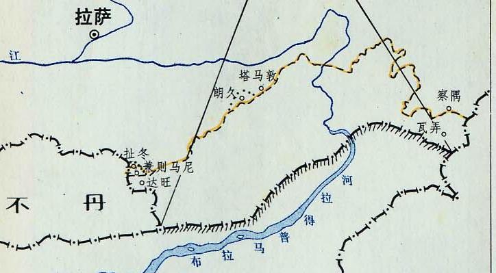 中缅边境地图