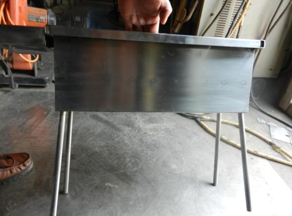 不锈钢烧烤炉子