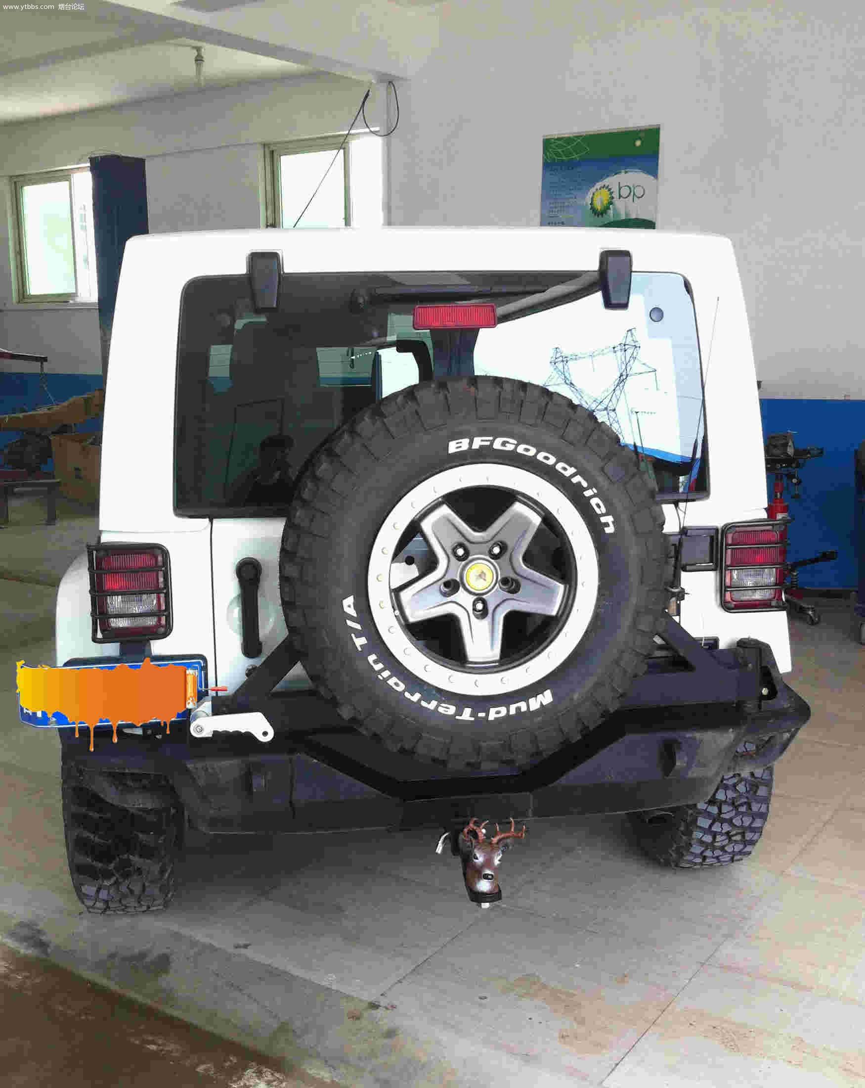 烟台论坛 烟台社区 烟台jeep越野俱乐部自己动手改装 j jeep高清图片