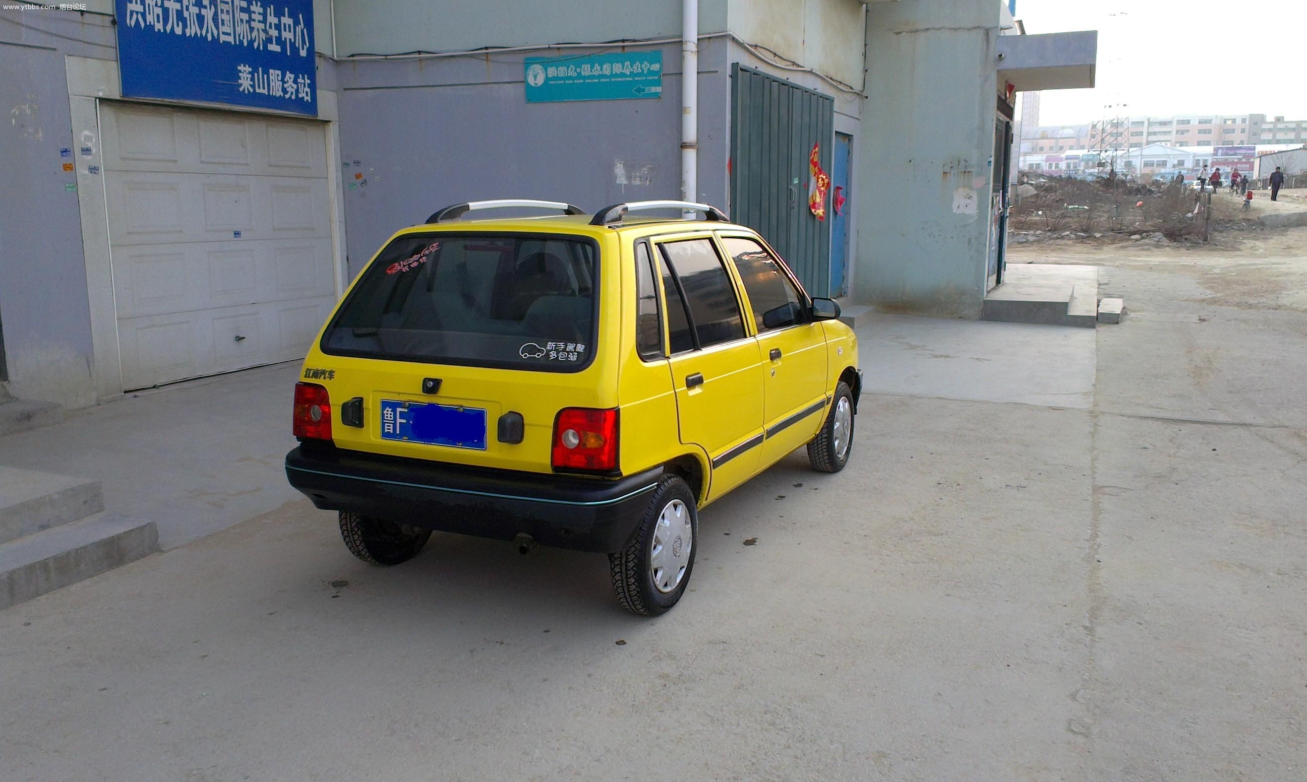 出售自家用的11年3月的江南奥拓 2010款标准型,本月刚车审,高清图片