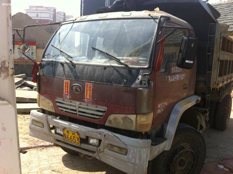 出售福田时代金刚688自卸翻斗工程车高清图片