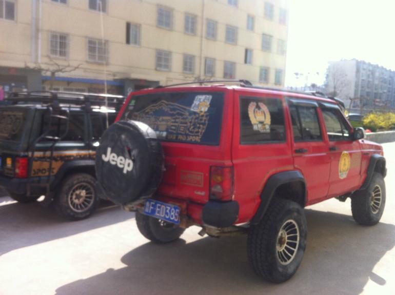 出售 爆改 柴油加高 213 吉普切诺基 二手车市高清图片