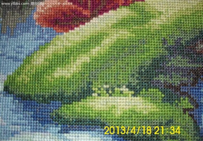 出售 财源滚滚 十字绣,妈妈一针一线缝制,完美手工 1.6米 0.64米 艺图片