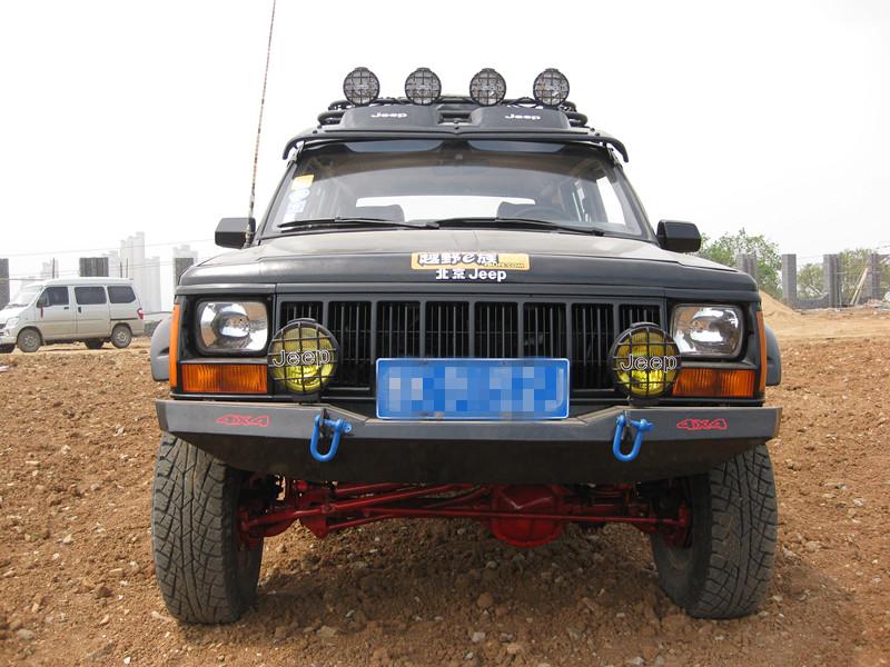 改装 四缸四驱 北京吉普 切诺基 213高清图片