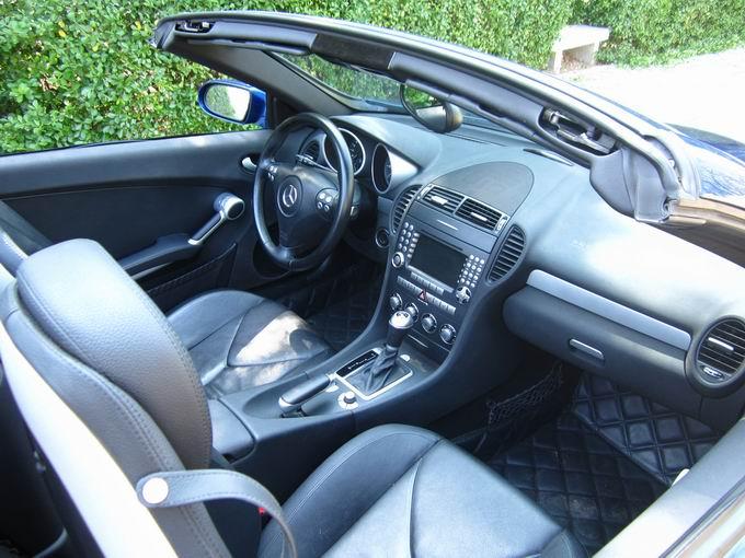 出售奔驰slk350敞篷跑车 婚庆首选 二手车市场高清图片