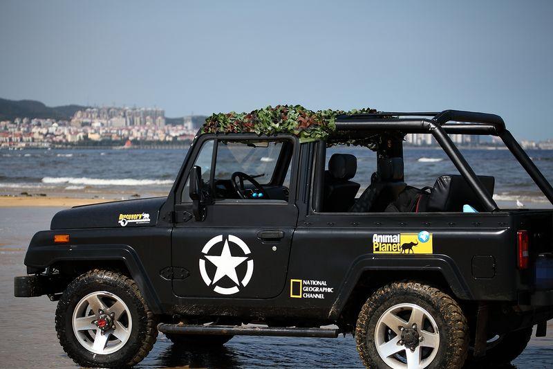 出售越野利器 北京jeep 角斗士 二手车市场高清图片