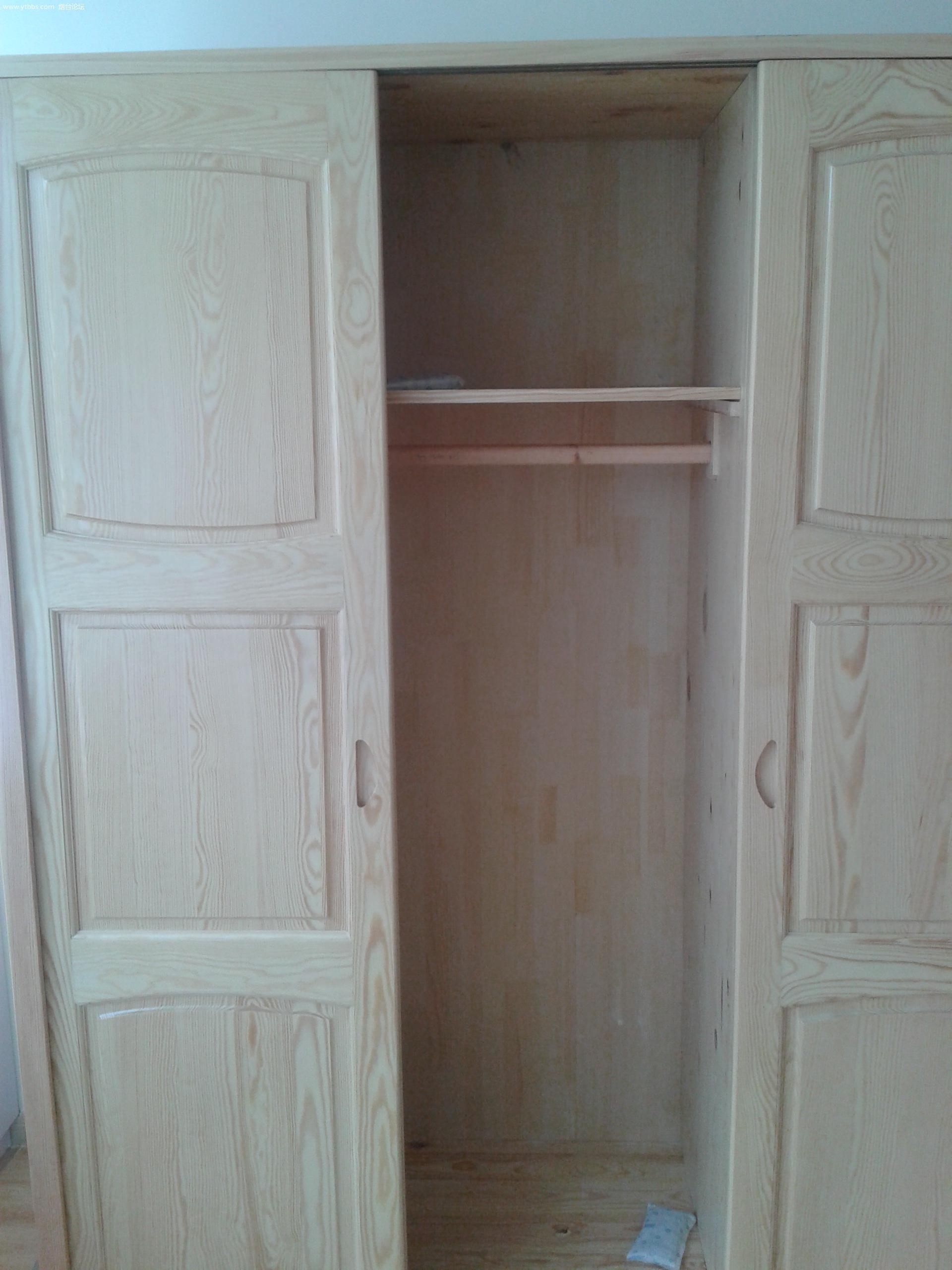 全新实木衣柜低价转让