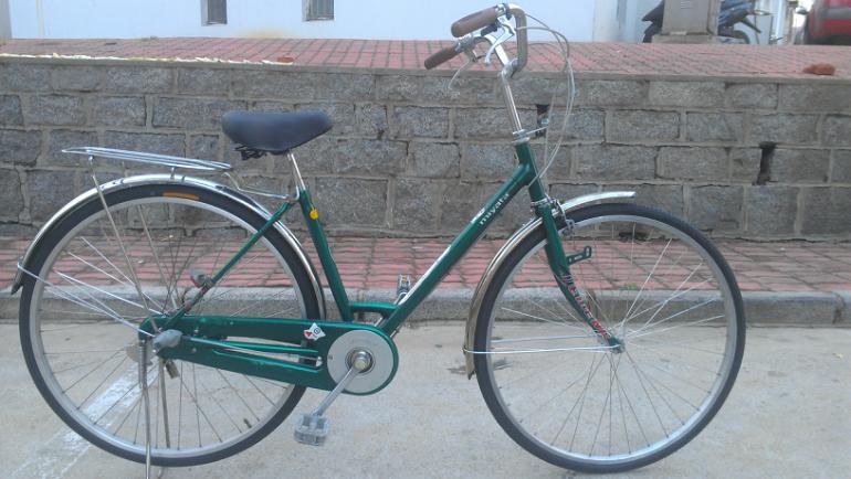 刚刚到货,日本原装进口二手内变速自行车,超级好骑图片