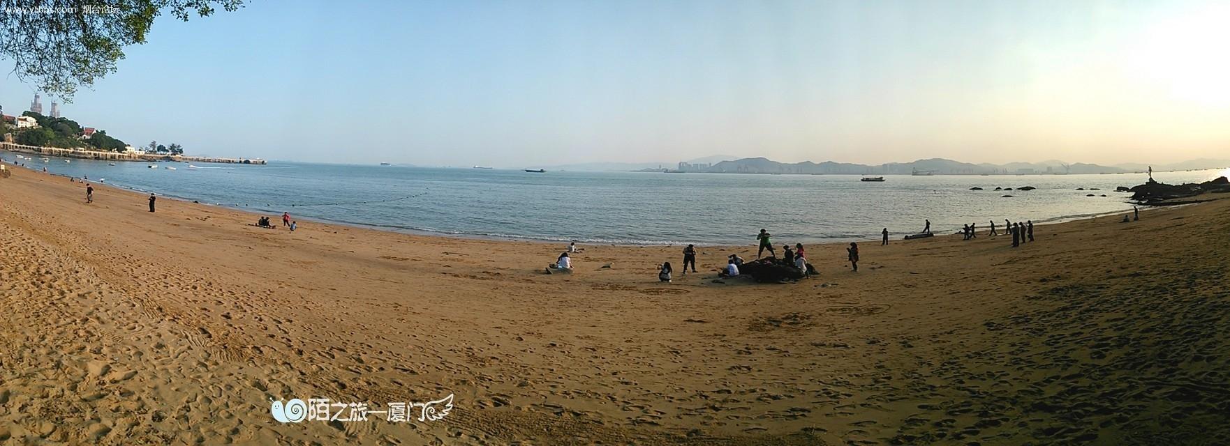 鼓浪屿的海边