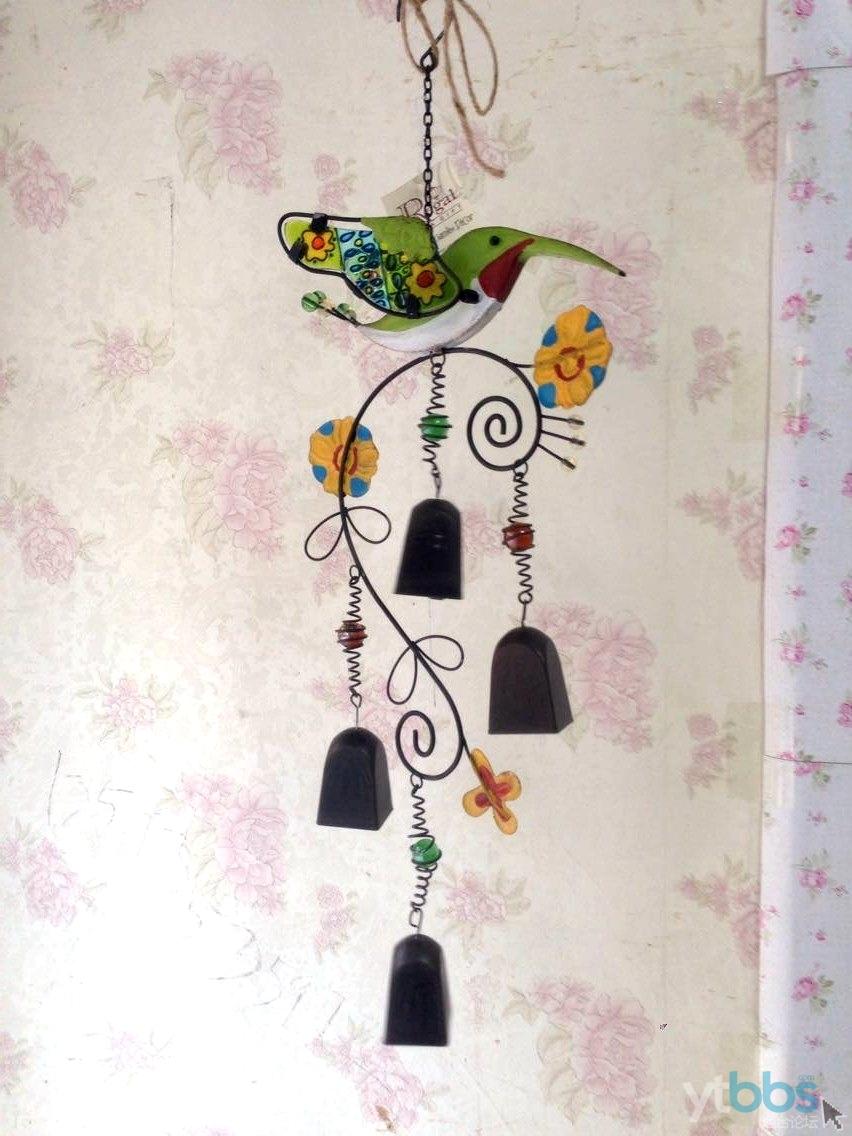 [居家日用] 外贸彩玻铁艺 欧式风铃~价格优惠!~~~绝对超值!