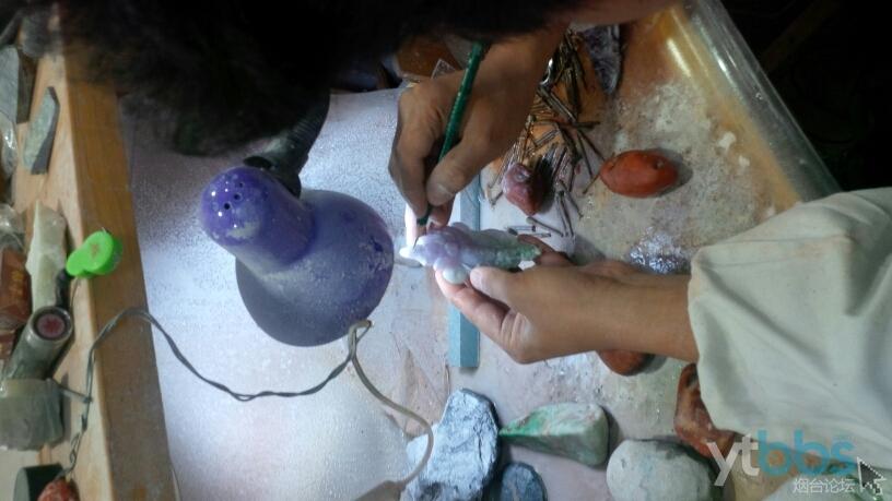 区-玉石雕刻加工