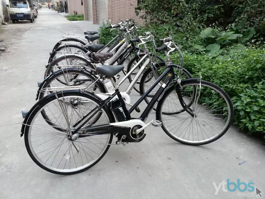 卖二手日本原装进口内三速电动助力自行车1600元起