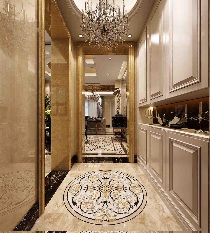 欧式走廊设计充满着清新优雅的格调