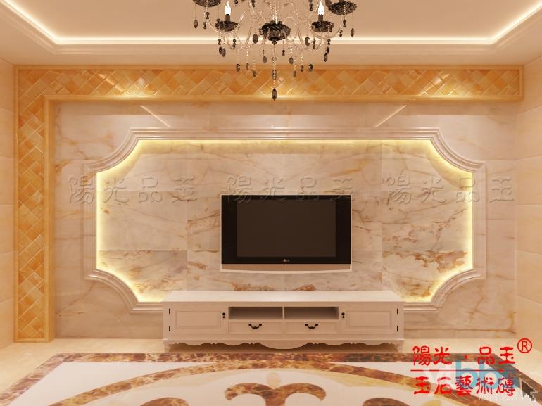 玉石背景墙石材中的 高端 ,进口天然大理石适合各种风格 烟台高新工高清图片
