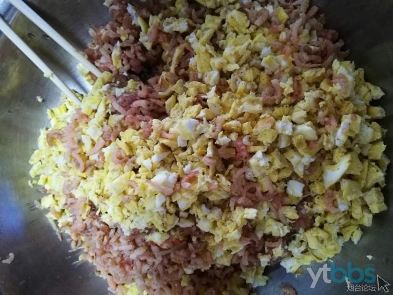 鸡蛋、海米