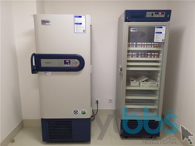-80℃深低温冰箱和常温医用冰箱,可以冷冻或保存液保存角膜植片.jpg