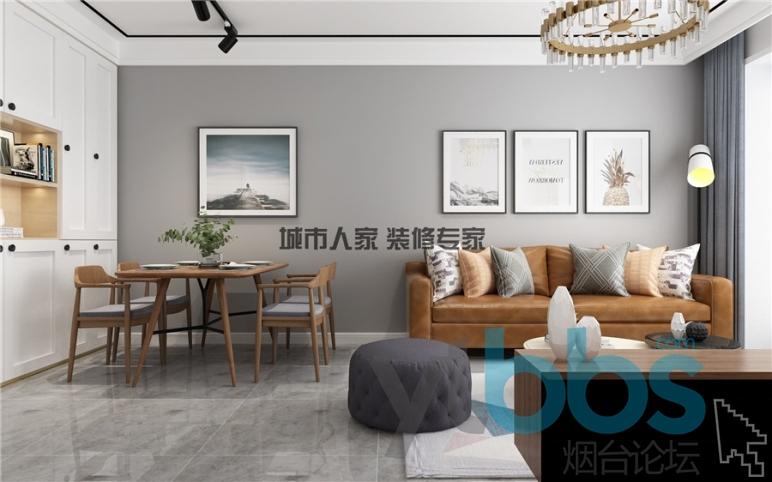 泰颐新城现代风格设计装修效果图03.jpg