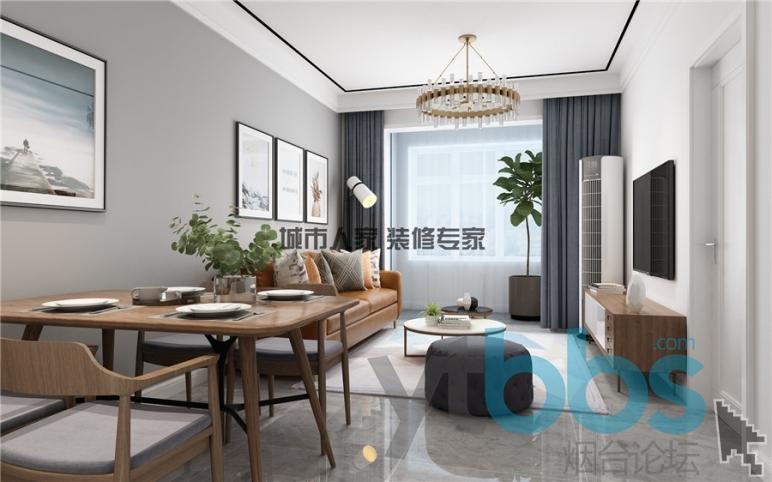 泰颐新城现代风格设计装修效果图02.jpg