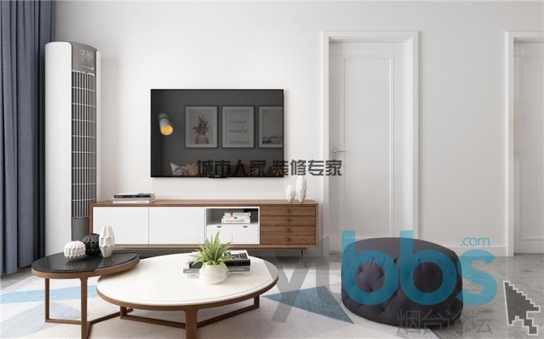 泰颐新城现代风格设计装修效果图04.jpg