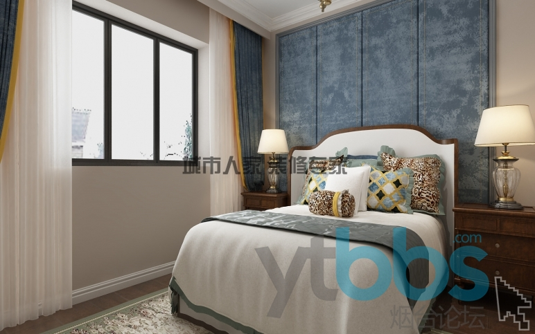 泰颐新城美式风格设计装修效果图03.jpg