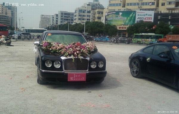 据说是浙江史上最牛叉的婚礼车队