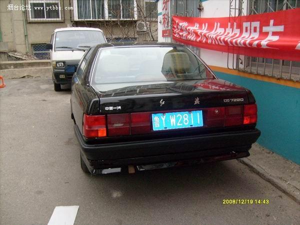 1998年电喷加长红旗轿车图片
