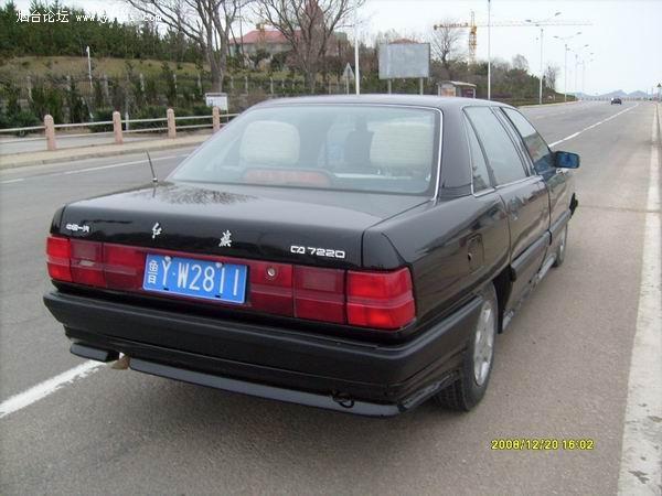 1998年电喷加长红旗轿车内有照片图片