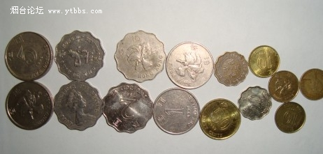 硬币/港币硬币齐全的