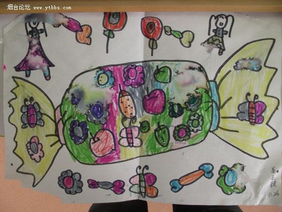 幼儿园中班糖果屋装饰图片