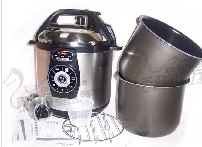 苏泊尔电压力锅 蒸米饭
