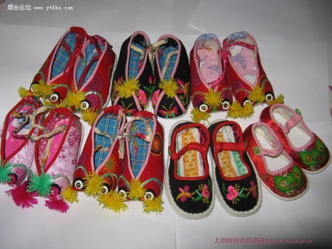商品名称:儿童纯手工布鞋
