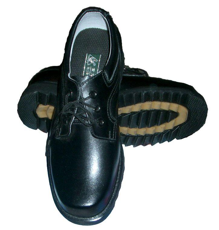 警用单皮鞋---钢包头/防穿刺