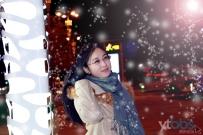 冬季最美的你