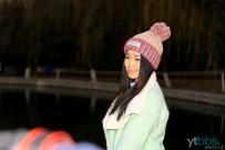 冬季美少女